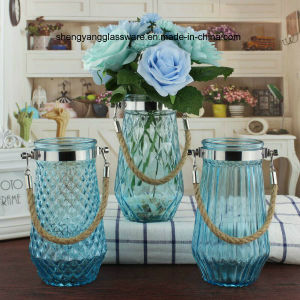 Portable Glass Vase /Home Decorative Glass Vase/ Holiday Articles pictures & photos
