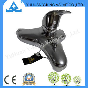 Brass Bathroom Basin Faucet with Deck Mounted (YD-E015) pictures & photos