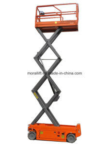 Hydraulic scissor type movable scissor lift platform with CE pictures & photos
