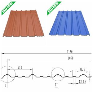 Free Sample UPVC Insulated Roofing Sheet 1130mm in India pictures & photos