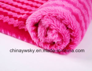 100% Polyester Fabric/PV Plush Fleece /Printd PV Plush/ Tiger Stripes pictures & photos
