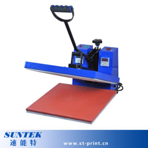 38*38cm Flatbed Clamp Type Heat Printing Machine for T-Shirt (STM-M12) pictures & photos