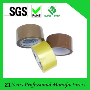 Brown & Yellowish Low Noise Packing Tape pictures & photos