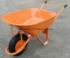 High Quality 100L/7cbf Wheel Barrow Hot Sales in South America (WB7400B) pictures & photos