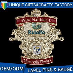Hot Sale Custom Metal Badge Manufacture in China pictures & photos