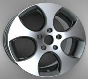 "ZW-H0508 15""-17"" Replica Alloy Wheel for VW GTI"