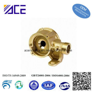 Forged Brass Valve Body Parts with Fine Sand Blasting pictures & photos