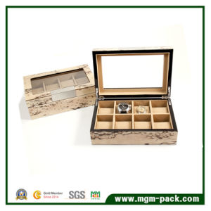 Super Quality Fashion Luxury Cover Wooden Watch Box pictures & photos