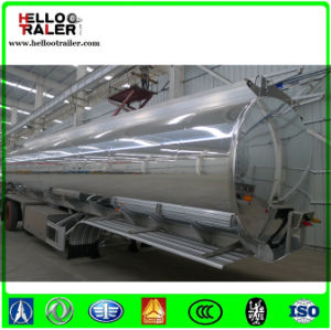 China 5083 Steel 52000 Liters Tri-Axle Aluminum Alloy Fuel Tank Semi Trailer pictures & photos