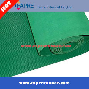 Hot Sale Fine Ribbed Rubber Mat pictures & photos