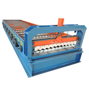 Roof Tile Cold Roll Forming Machine pictures & photos