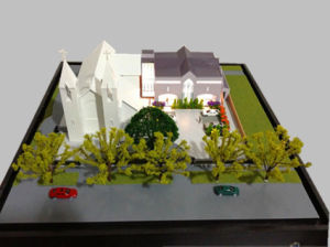 Plastic Architectural Model of a Church Hall (JW-302) pictures & photos