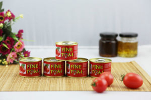Fine Tom Low Price 70g Tomato Paste China Manufacturer Factory pictures & photos