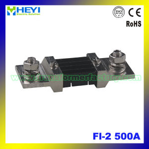 (FL-2) 75mv 500A Manganese-Copper Alloy Current Shunt DC Electrical Shunt pictures & photos