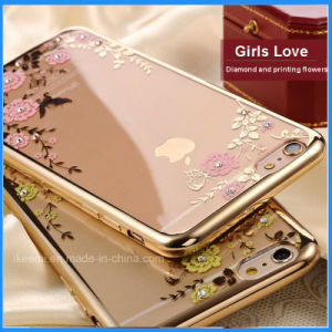 Secret Garden Flower Bling Flora Case Mobile Phone Case for iPhone pictures & photos