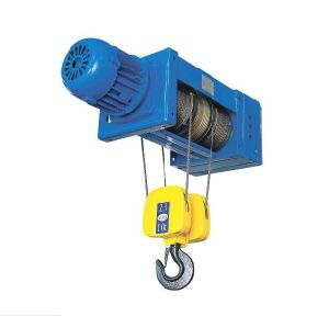 4/2 Rope Reeving Low-Headroom Monorail Hoist 10t pictures & photos