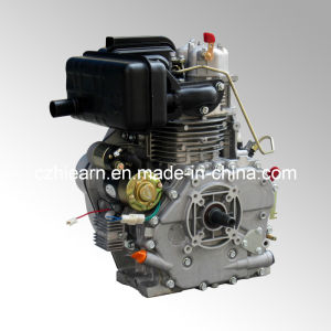 12 HP Diesel Engine Electric Start with Taper Shaft (HR186FAE) pictures & photos