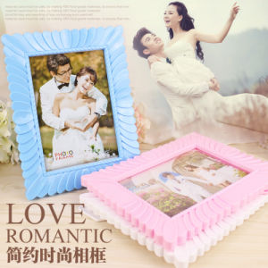 Wholesale New Design 7 Inch Plastic Frame, Photo Frame pictures & photos