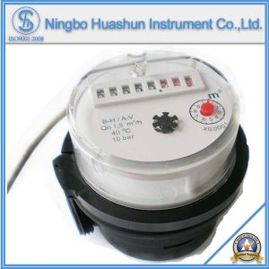 Single Jet Dry Type Plastic Body Water Meter with Pulse Output pictures & photos