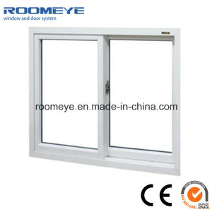 PVC Sliding Window with Crescent Lock pictures & photos