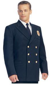 Wholesale Navy Blue Winter Security Uniform Jacket for Men pictures & photos