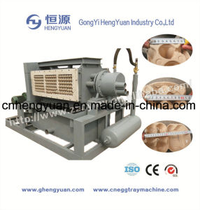 Easy Operation Small Egg Tray Paper Pulp Molding Machine pictures & photos