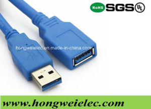 Connect a Type Male to Female Wire USB 3.0 Cable