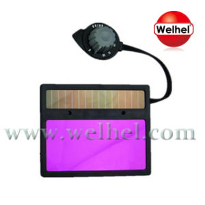 Solar Powered Auto-Darkening Welding Lens (WH716) pictures & photos