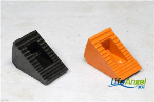 Black Orange Car Wheel Chocks with Handle pictures & photos