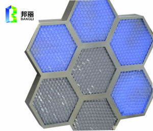 Small Cell Size Aluminum Honeycomb Core Construction Material Fireproof Facade pictures & photos