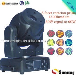 60W Mini LED Moving Head Spot Stage Light pictures & photos