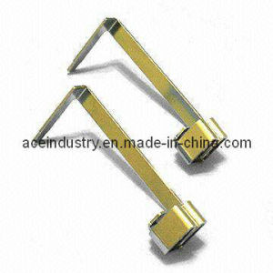 Yellow Chromate OEM Metal Stamping Parts pictures & photos