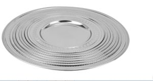 Stainless Steel Round Tray and Plate (JX-019) pictures & photos
