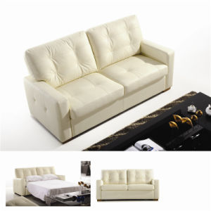 Electric Recliner Sofa USA L&P Mechanism Sofa Down Sofa (732#) pictures & photos