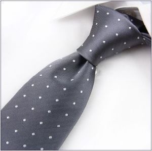 New Design Stylish DOT Silk Woven Necktie (-05) pictures & photos