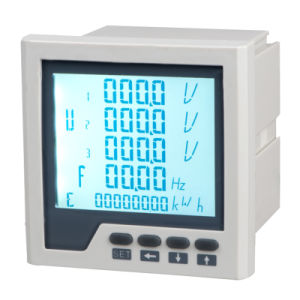 Three-Phase Network Multifunction Power Meter LCD pictures & photos