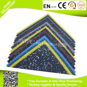 Wholesale Large Playground Outdoor Rubber Floor Tile pictures & photos