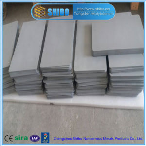 Factory Direct Supply Moly Plate (Mo-La) with Sandblast Surface for MIM (Metal Injection Molding) pictures & photos