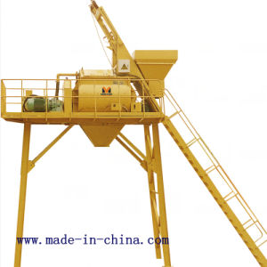 35m3/H Double-Horizontal-Shaft Forced Type Concrete Mixer