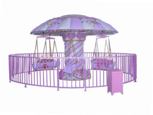 Amusement Equipment Pink Flying Chairs (NC-LE08) pictures & photos