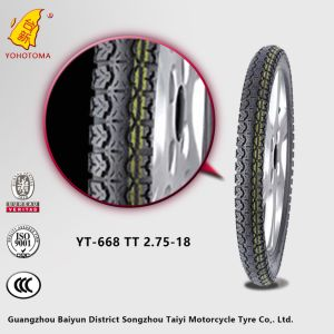 China Cheap Price Motorcycle Tire Yt-668 Tt 2.75-18 pictures & photos