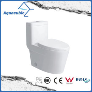 Siphonic One Piece Ceramic Toilet in White (ACT9328) pictures & photos