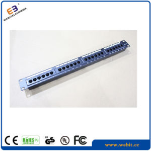 19 Inch CAT6 UTP Patch Panel Without Bracket, Vertical Version pictures & photos