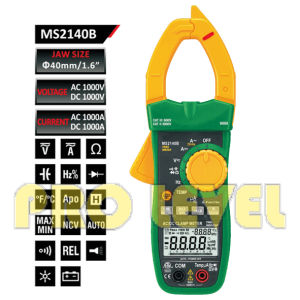 6000 Counts Digital AC and DC Clamp Meter (MS2140B) pictures & photos