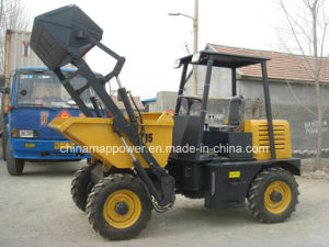 1.5ton Hydraulic Dumper Small Cart with Self-Loading Bucket pictures & photos