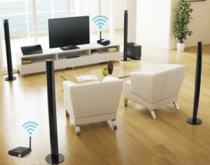 Wireless Power Amplifier (Wireless Solution to 5.1CH Home Theater Audio System pictures & photos