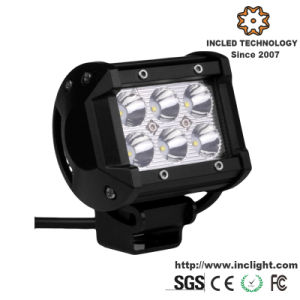 18W CREE Super Bright off Road LED Light Bar