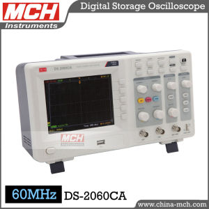 Promotion! 60MHz Bandwidth Dual Channel Color Display Lab Oscilloscope (DS-2060CA)