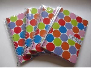 Double Line Printed School Notebook Gift Memo Pad