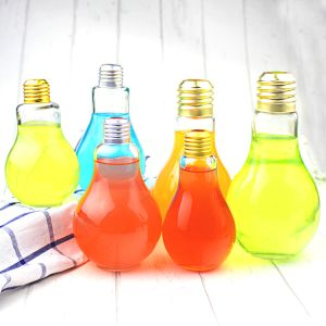 New Types Creative Bulb Glass Bottle of Dringkware of Glassware pictures & photos